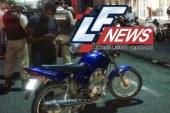 PM é atingido por arma de fogo enquanto  pilotava moto