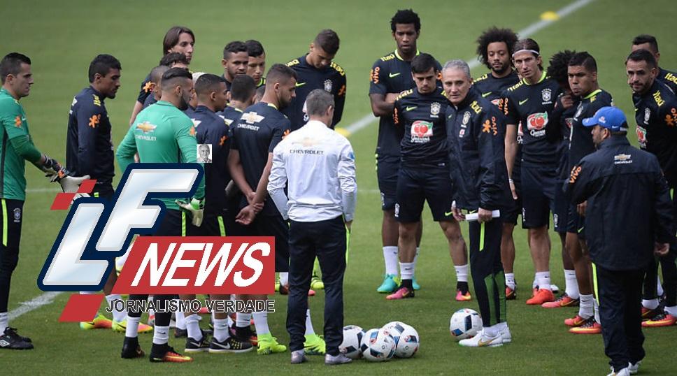 Seleção brasileira está pronta para o Equador