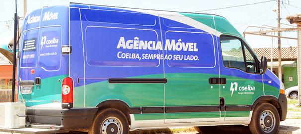 Agência Móvel da Coelba atende em Lauro de Freitas