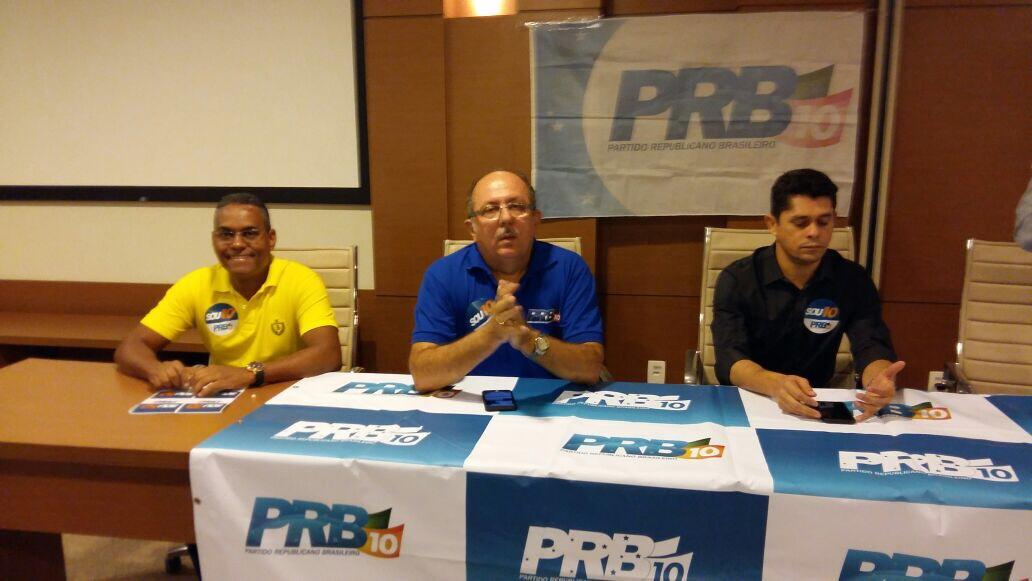 Vereador Edílson Ferreira presente na convenção do PRB em Salvador