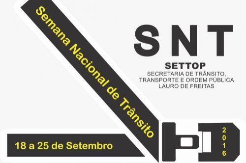 Semana Nacional de Trânsito começou neste domingo