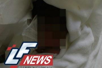 Bebê é encontrado dentro de saco em Lauro de Freitas