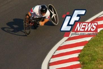 Ex-piloto de Fórmula-1 que perdeu as pernas em acidente busca bicampeonato paralímpico no ciclismo