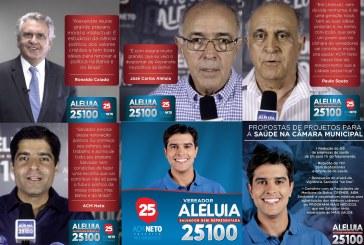Políticos de renome nacional elogiam e declaram apoio ao candidato Alexandre Aleluia
