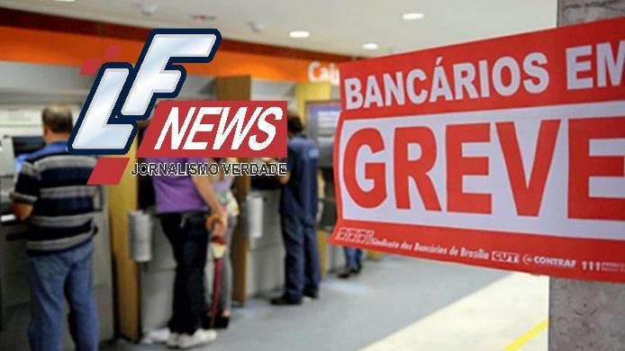 Bancários entram em greve nesta partir desta terça por tempo indeterminado