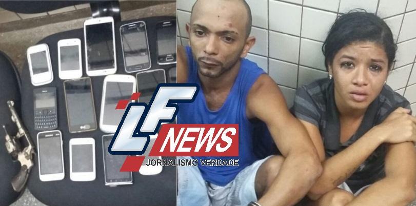 Casal acusado de roubos a ônibus em Itinga é preso