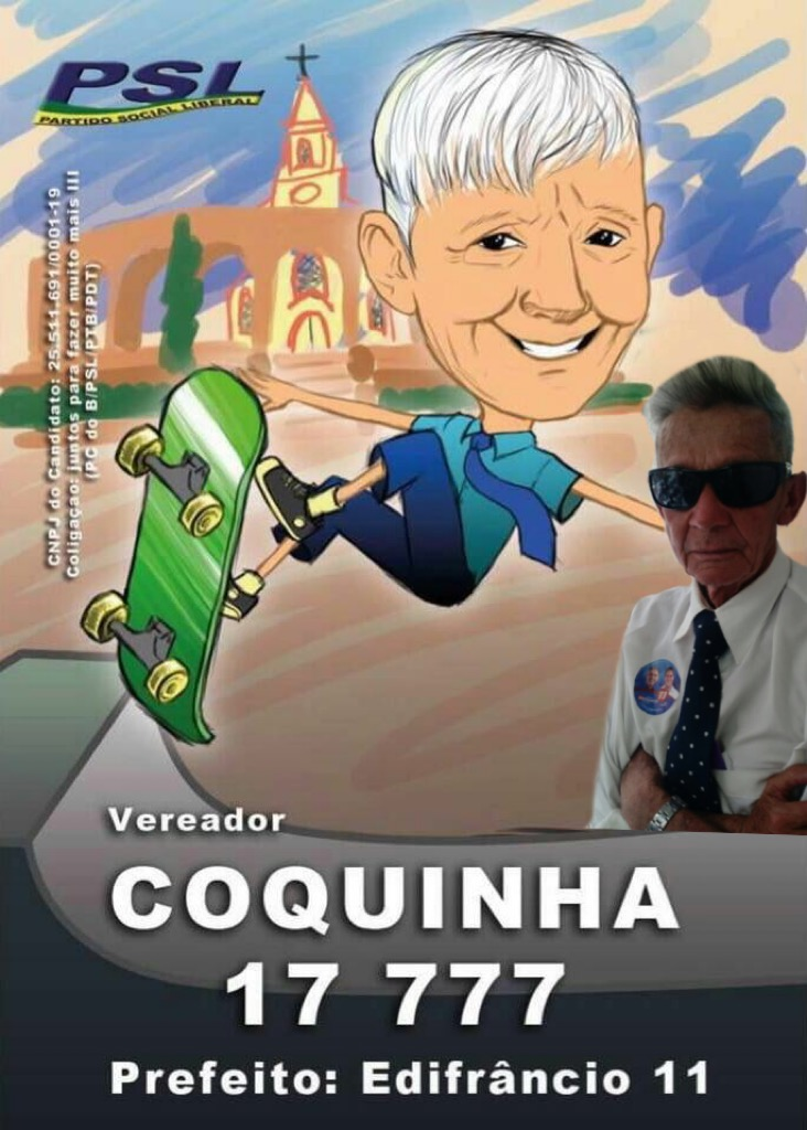 Coquinha será vereador em Santa Bárbara