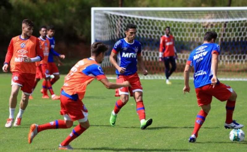 De olho no Tupi, Bahia volta a treinar no Fazendão nesta quinta-feira
