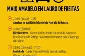 Maio Amarelo: Prefeitura de Lauro está na campanha e realiza atividades, assista