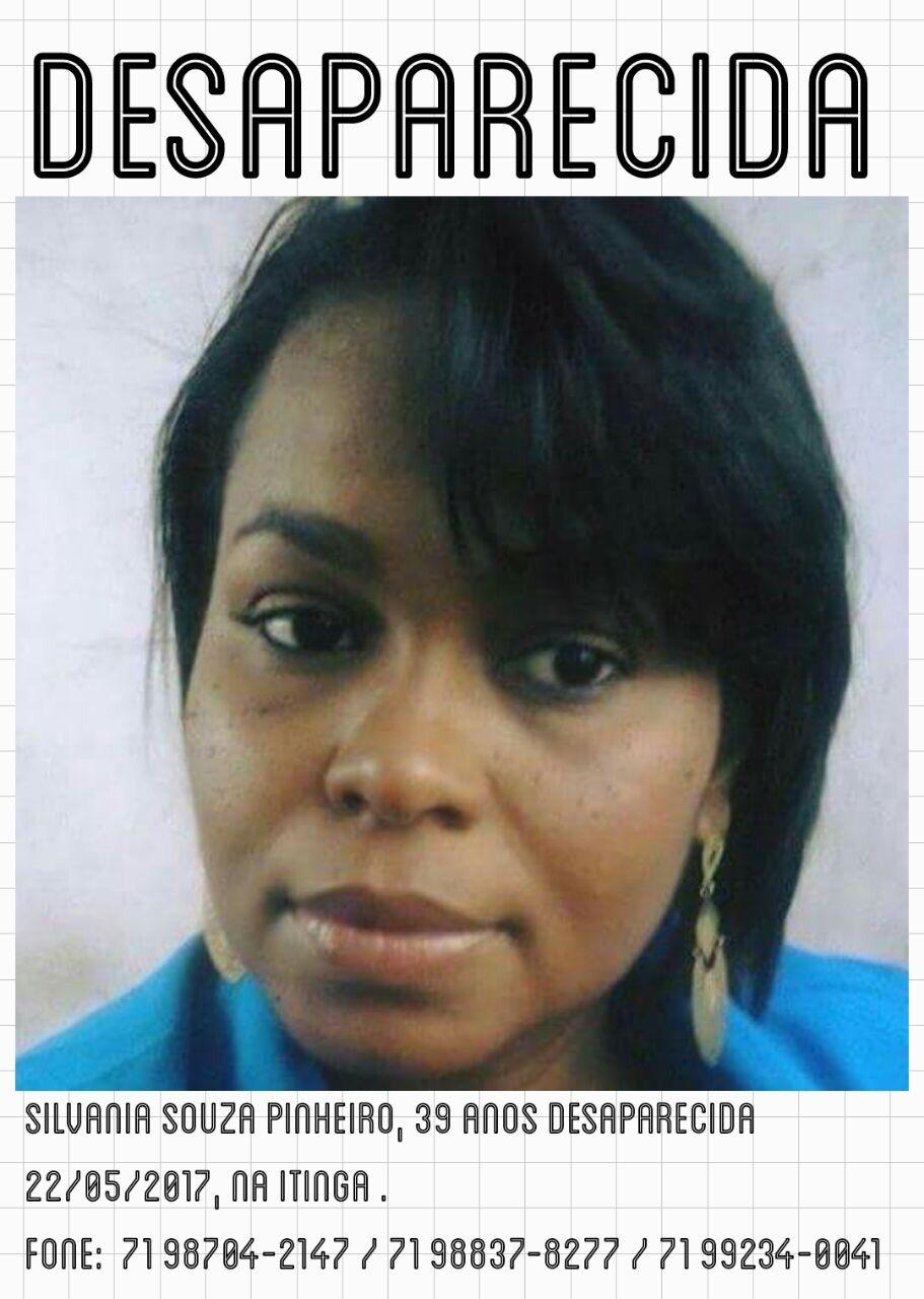 Moradora de Lauro de Freitas está desaparecida