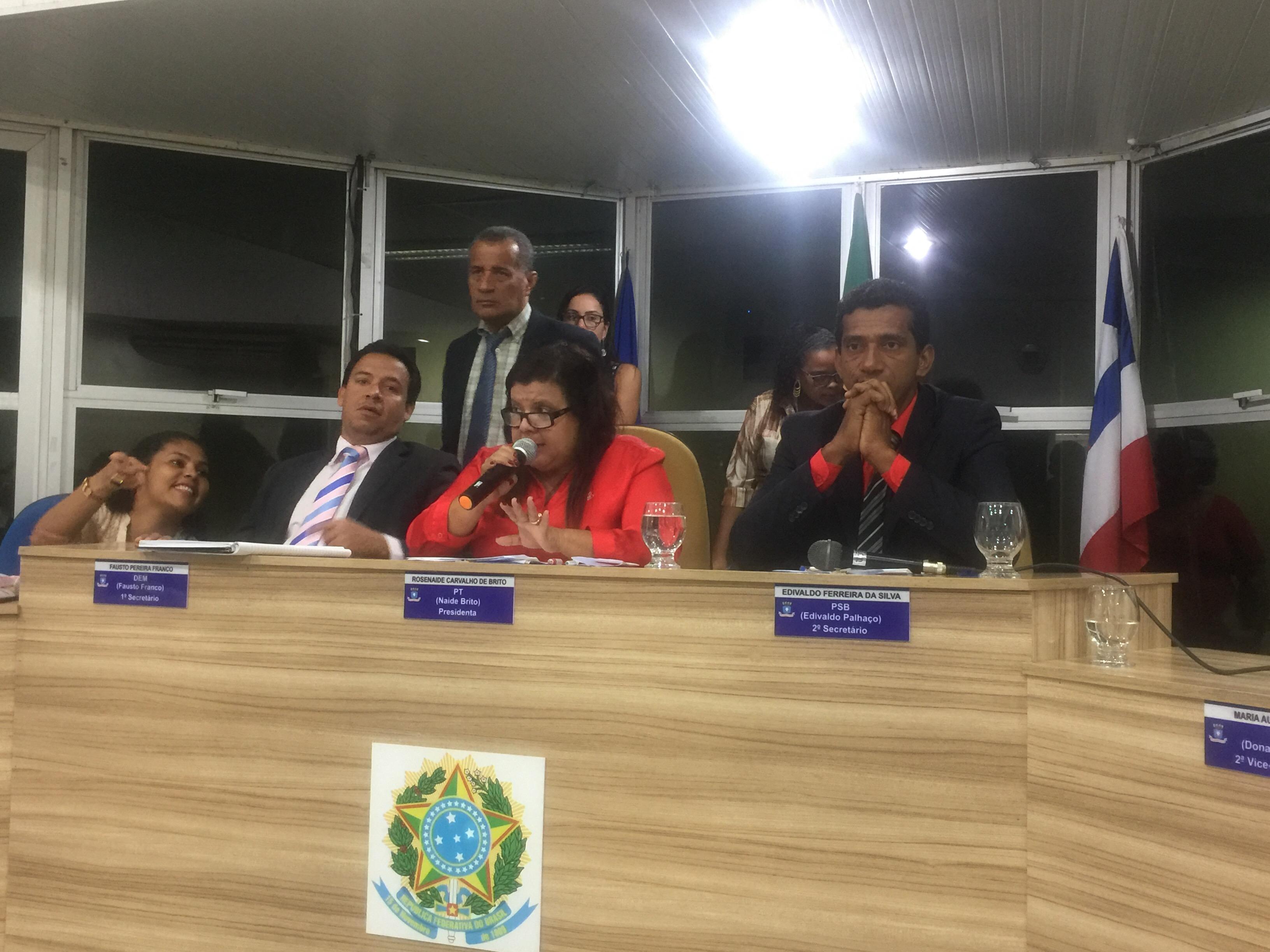 Câmara de Lauro de Freitas aprova Comissão revisora da Lei Orgânica e do Regimento