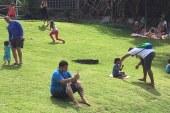 Parque Ecológico de Vilas repleto de famílias neste final de semana