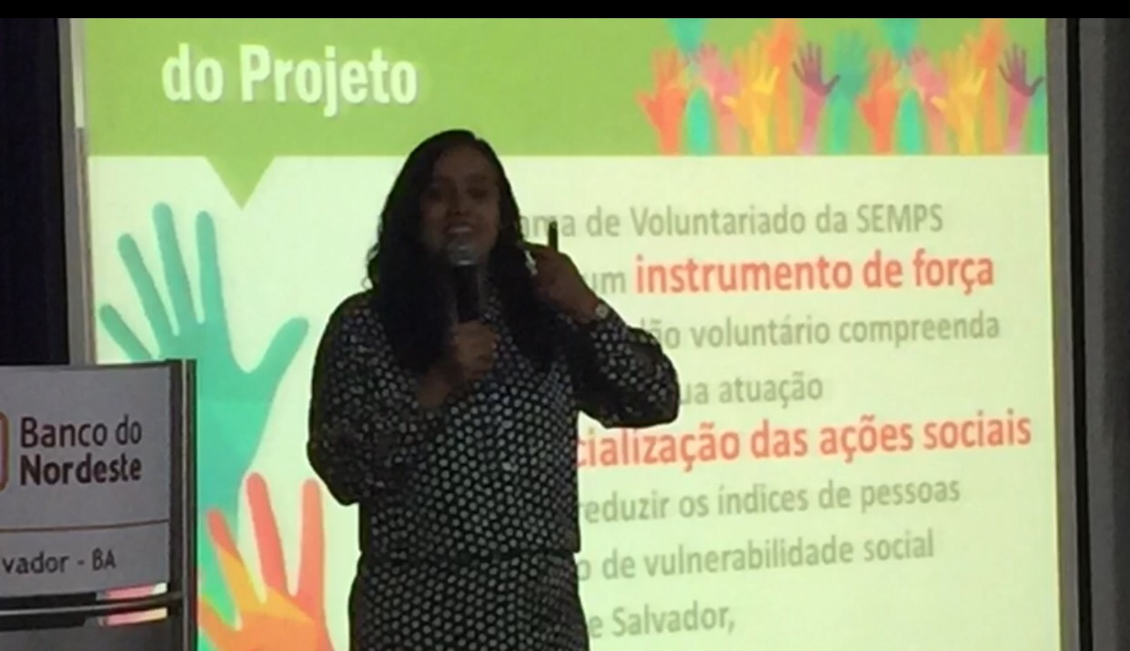Pré-lançamento do Projeto Salvador, Capital do Voluntarido aconteceu nesta segunda (28)