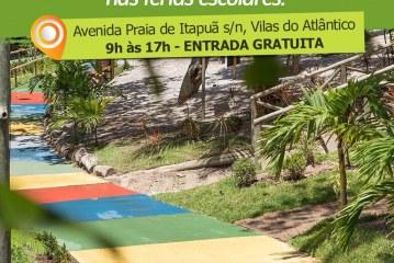 O Parque Ecológico de Vilas está funcionando normal nas férias escolares