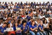 Estudantes participam de aula inaugural do MedioTec em Lauro de Freitas