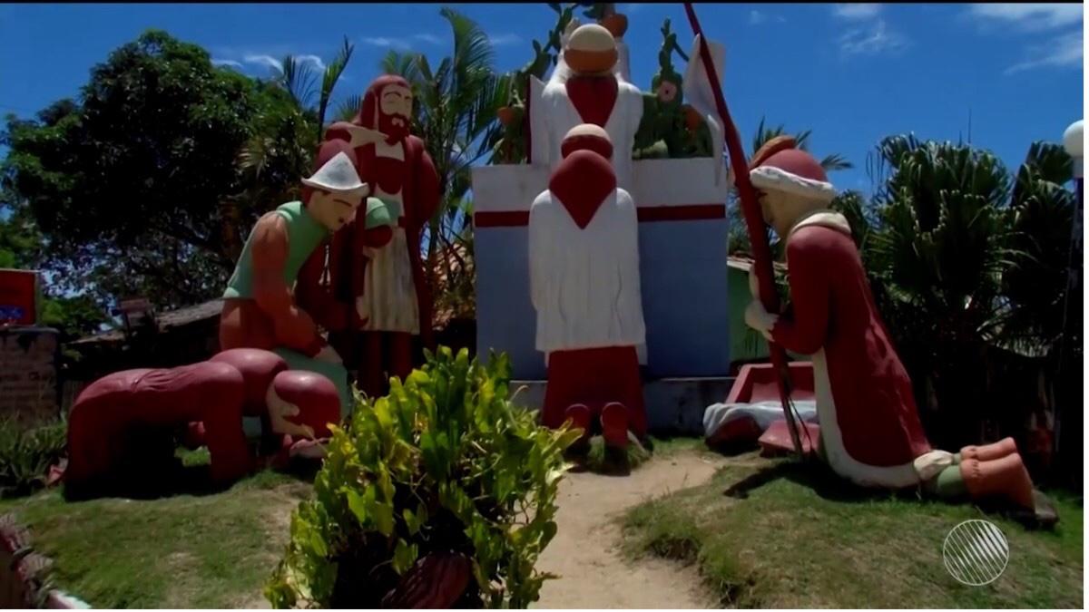 Justiça determina demolição de monumento na Bahia que representa primeira missa celebrada no Brasil