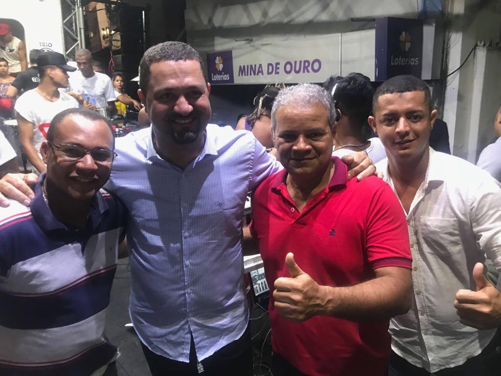 Ailton Florêncio firme e forte com Osni Cardoso e Joseildo Ramos
