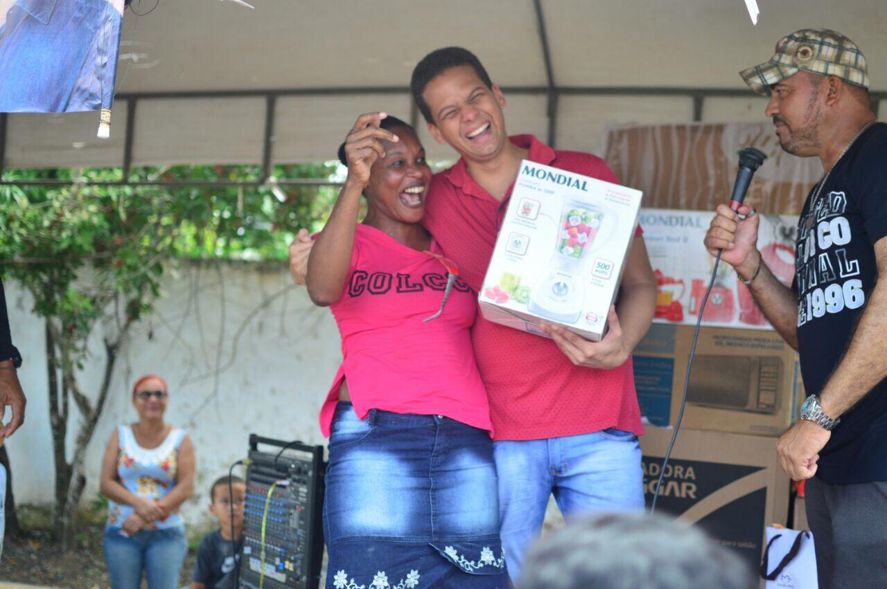 Vereador Tito Coelho participou de três eventos do Dia das Mães em Itinga
