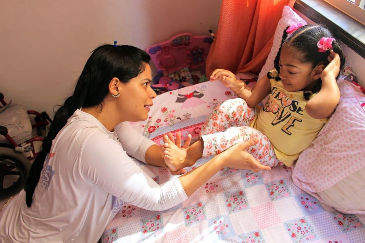 A Manassés vem beneficiando diversas pessoas que precisam de fisioterapia e não têm recurso para custear um tratamento