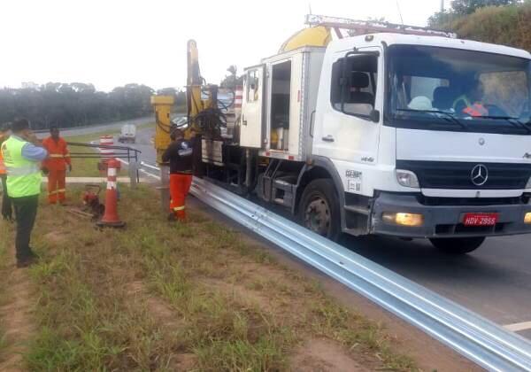 Rodovias baianas passam por serviços de manutenção até sexta