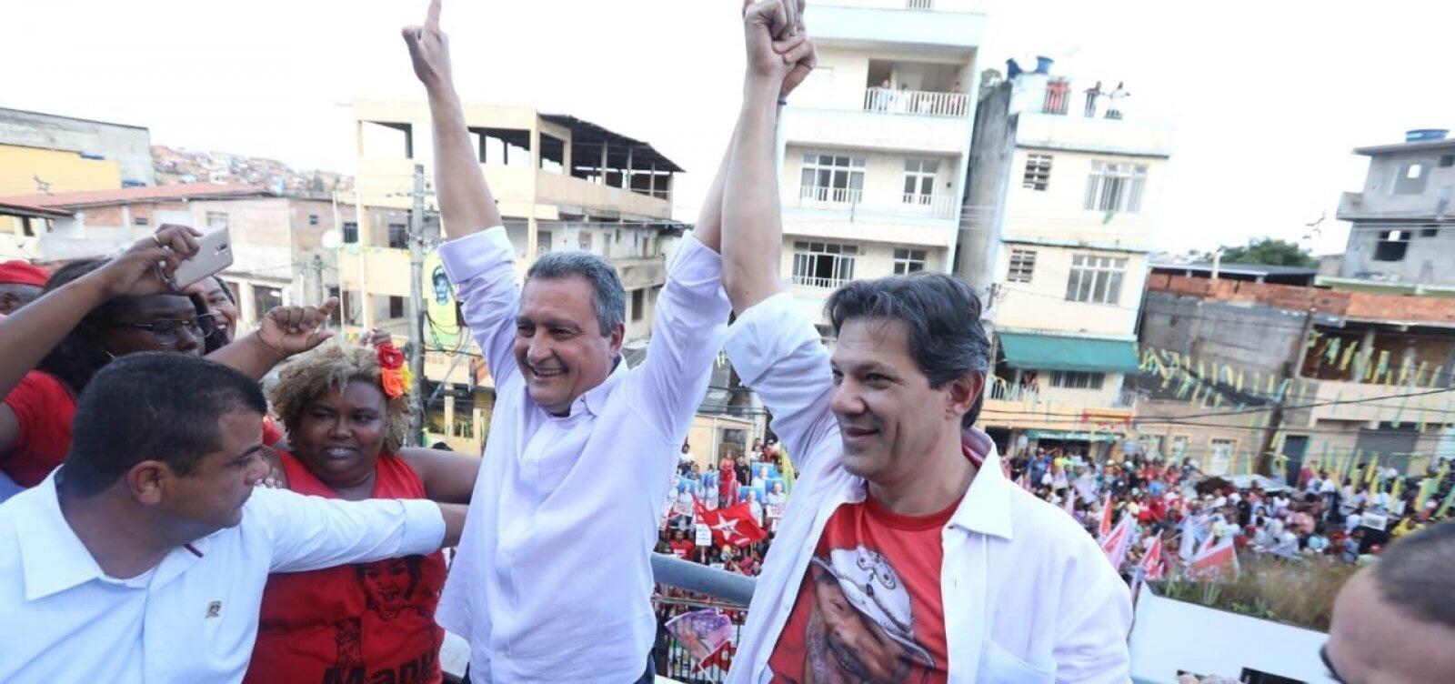 Em vídeo, Rui e Haddad criticam Temer: 'Este governo está perseguindo a Bahia'