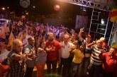 Lídice é recebida por multidão em Crisópolis