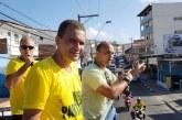 Cláudio Silva e candidatos a deputado estadual realizam carreata pró Bolsonaro em Lauro de Freitas
