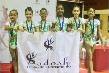Atletas laurofreitenses estão classificadas para Torneio Nacional de Ginástica Rítmica