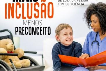 Educação realiza semana de atividades em comemoração ao Dia Nacional de Luta da Pessoa com Deficiência