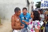 Alex Simões presente em mais uma caminhada do expresso M&M, desta vez em Vila Praiana