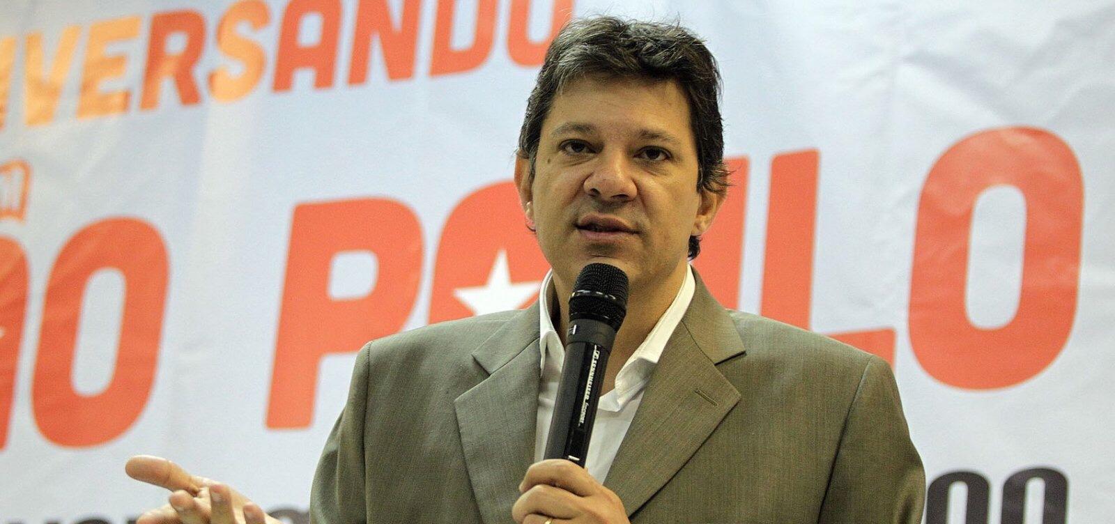 Haddad será oficializado candidato do PT à Presidência no dia 11, diz coluna