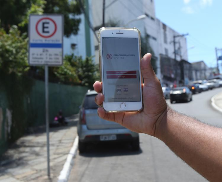 Salvador: Zona Azul Digital começa a valer em Salvador a partir desta segunda
