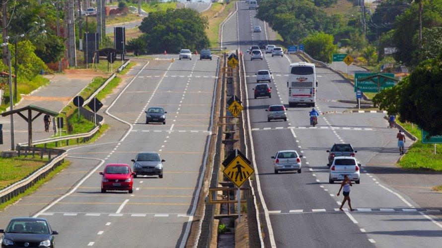 Trechos da Estrada do Coco e Linha Verde passarão por obras nos próximos seis meses