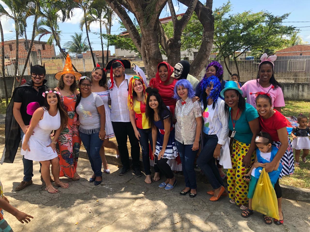 USF do Parque São Paulo promove evento alusivo ao dia das crianças