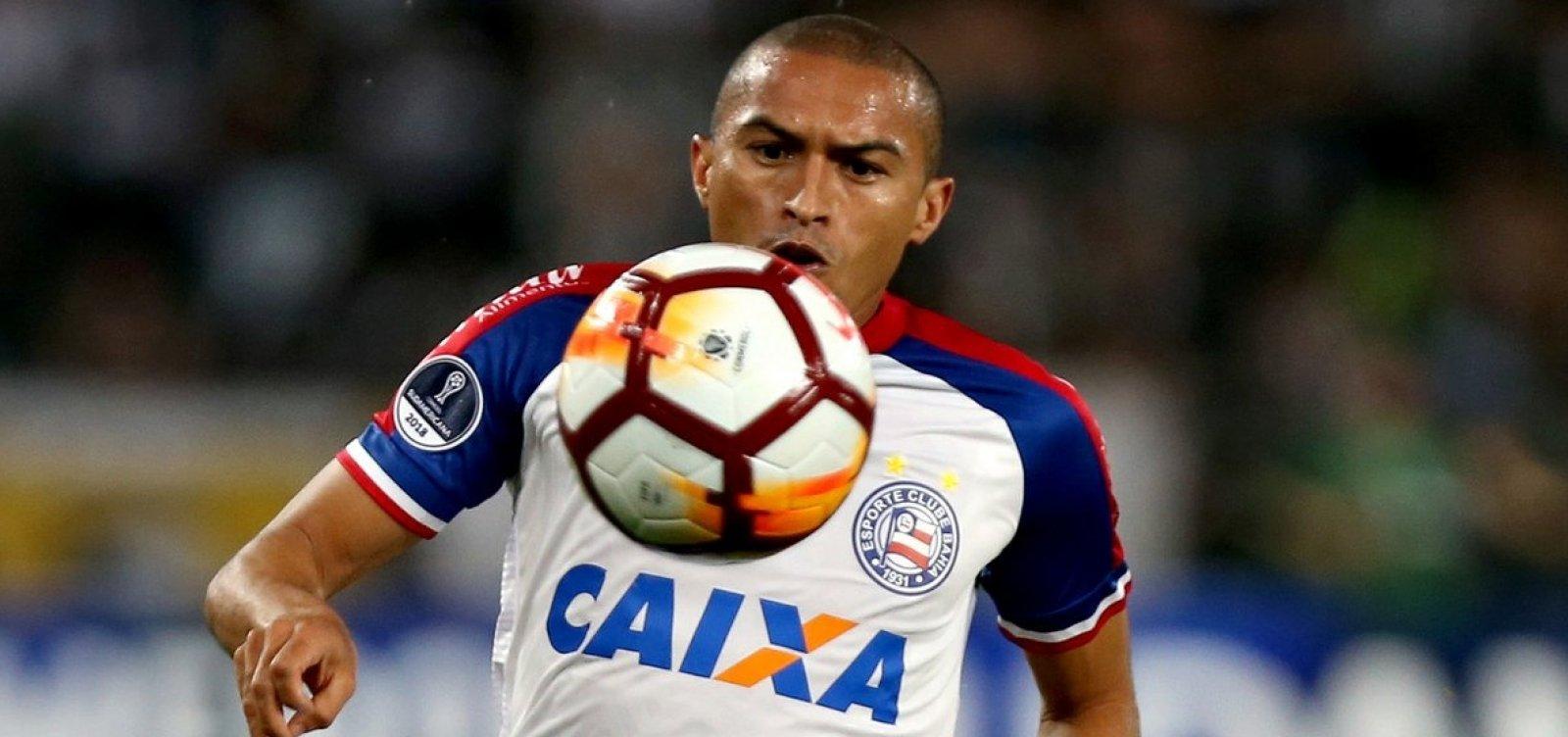 Nino e Jackson desfalcam Bahia contra Paraná; outros dois são dúvida