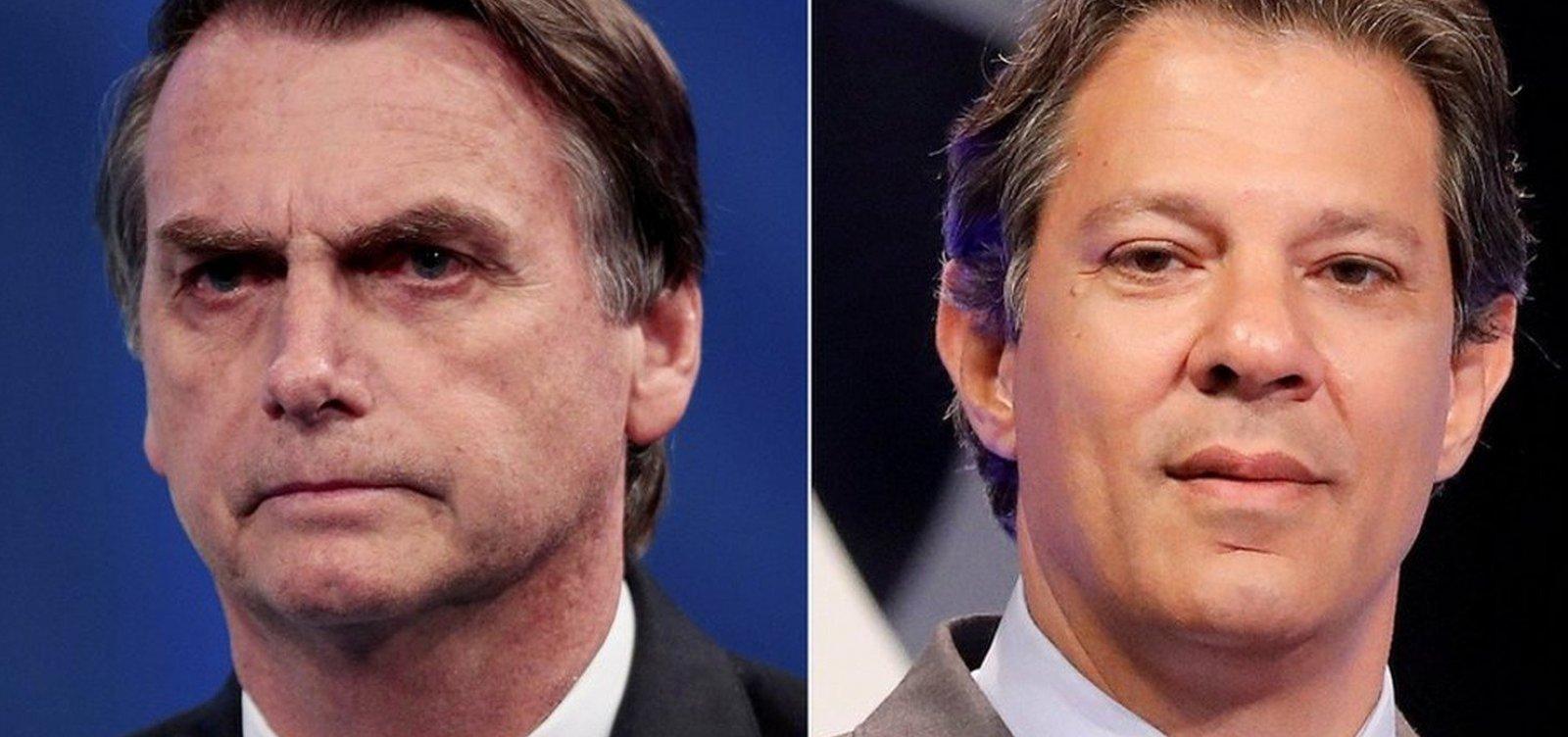 Datafolha divulga hoje primeira pesquisa presidencial do 2º turno