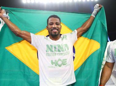 Robson Conceição vence canadense e conquista décimo triunfo como profissional