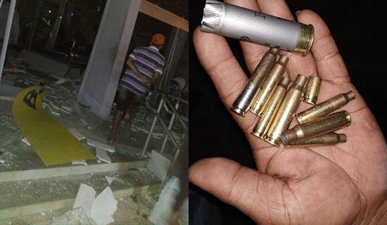 Vídeo: Bandidos armados explodem caixa eletrônico em Castro Alves