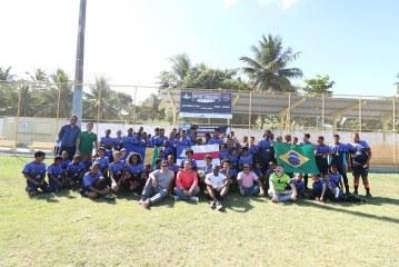 """Projeto """"Oportunidade através do Esporte"""" beneficia crianças e jovens de Lauro de Freitas"""