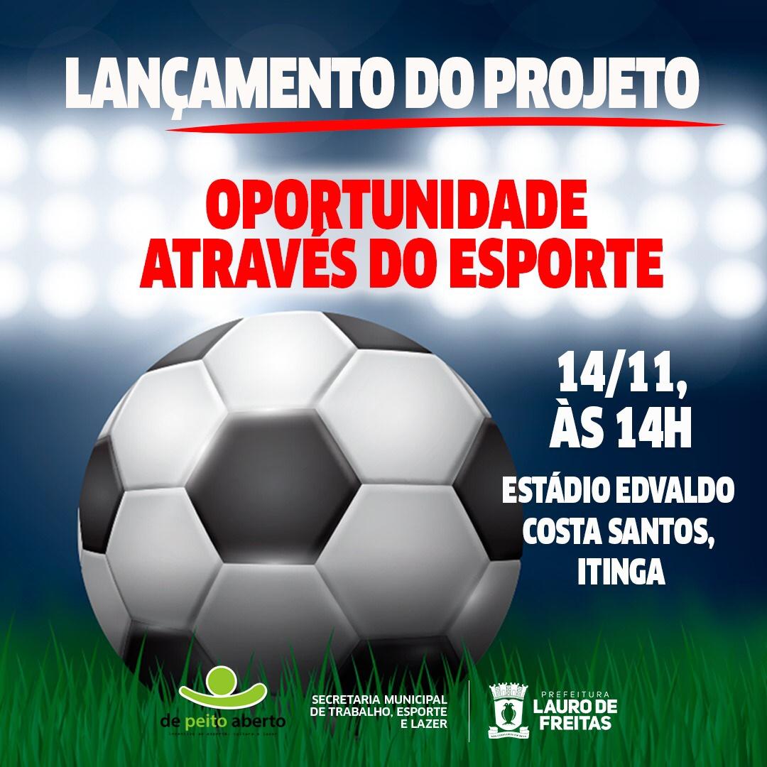 Prefeitura traz projeto social voltado para iniciação esportiva
