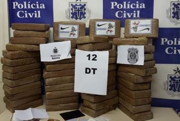 Operação conjunta da Polícia Baiana e PF apreende R$ 1 milhão em cocaína dentro de apartamento