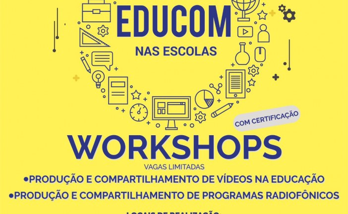IAT e Semed promovem workshops sobre uso de tecnologia em sala de aula