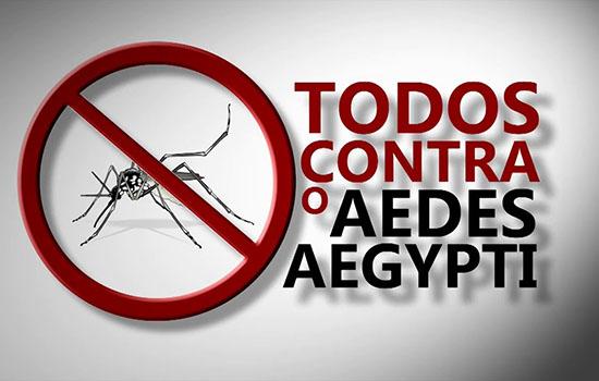 Começa hoje Semana Nacional de Combate ao Aedes aegypti