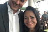 Alexandre Marques em Brasília firme e forte com a prefeita Moema Gramacho