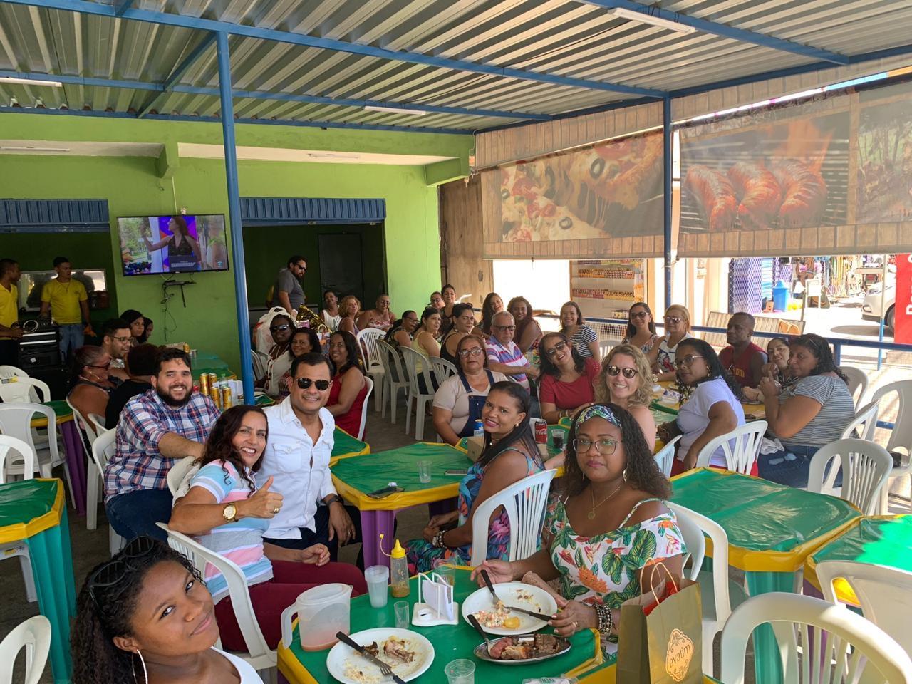 USF do Caji/Vida Nova realizou a sua confraternização de Natal