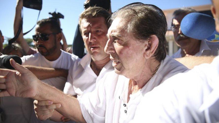 Toffoli dá 48 horas para Justiça informar sobre saúde de João de Deus