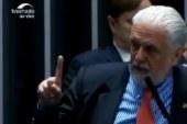 Wagner se irrita com Kajuru no Senado e brada: 'Não vou revelar meu voto'; veja vídeo