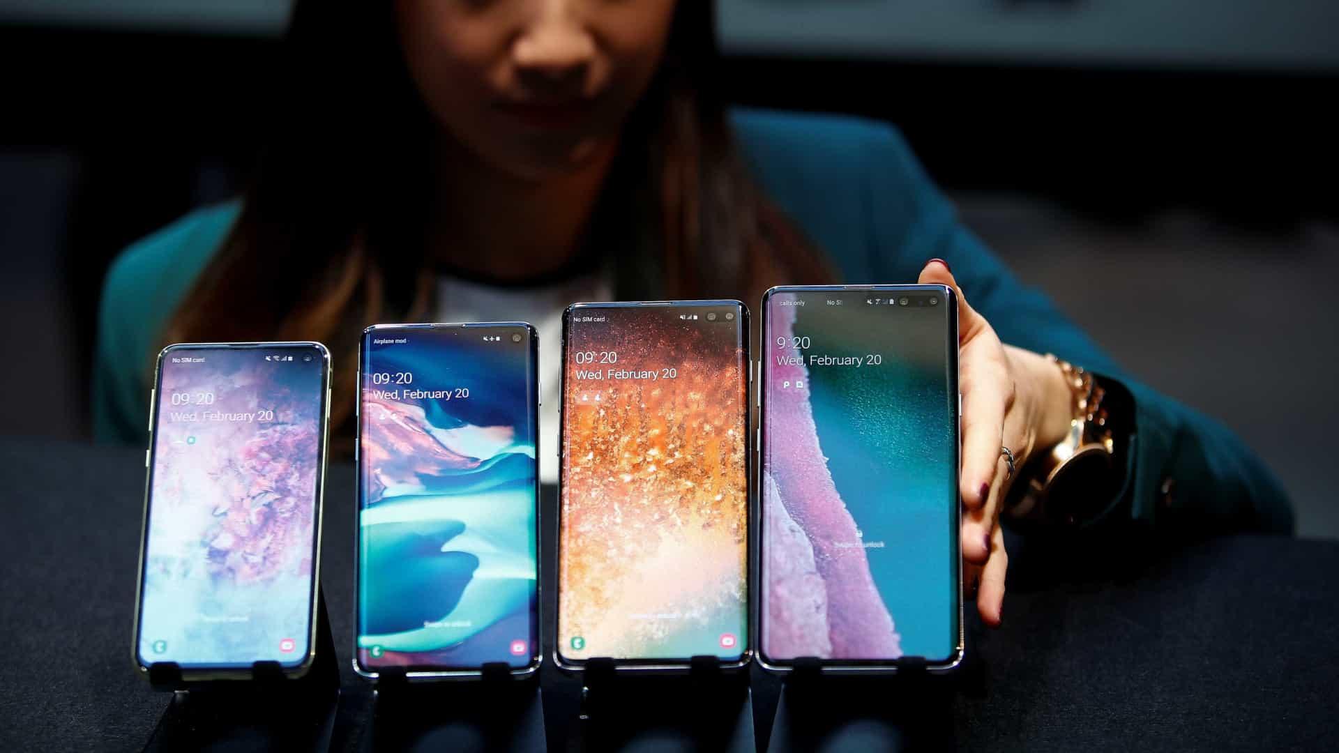Samsung marca lançamento da linha Galaxy 10 no Brasil
