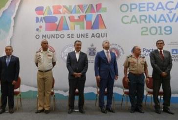 Carnaval: secretário anuncia efetivo de 26 mil policiais nas ruas