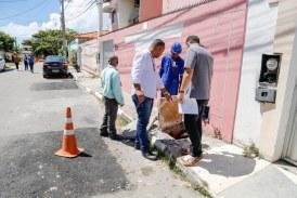 Meio Ambiente intensifica fiscalização de esgotos irregulares em Lauro de Freitas